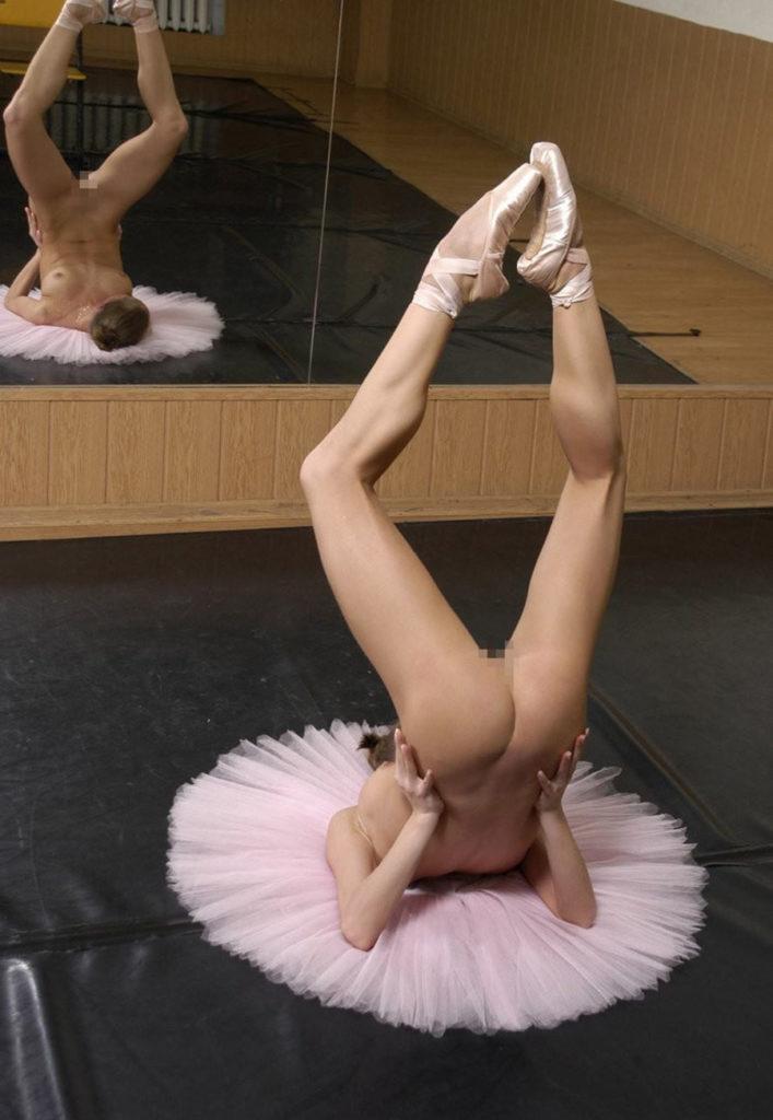 バレエ女子という身体柔らかい女のエロ画像50枚・26枚目の画像