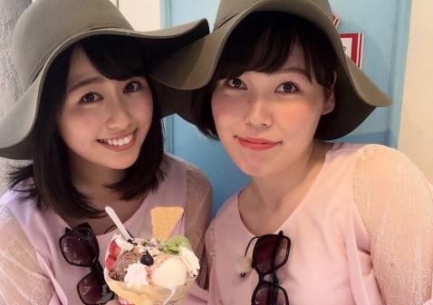 尼神インター誠子とあーりんのインスタツーショットエロ画像1