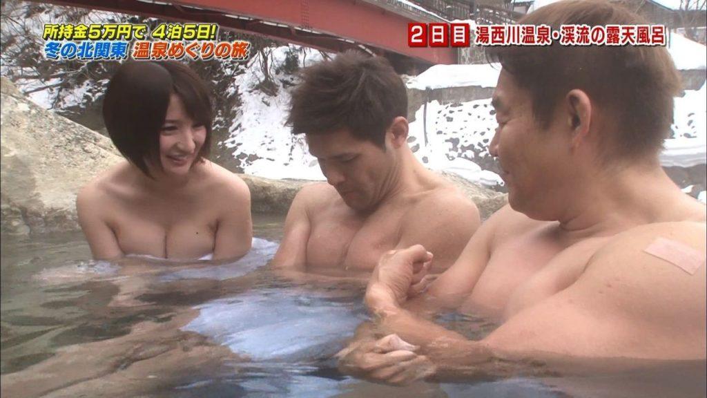 ハプニング不可避のTV入浴シーンのエロ画像35枚・11枚目の画像