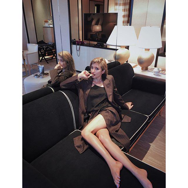 ローラ(27)のFカップ乳首ポロリのインスタエロ画像42枚・16枚目の画像