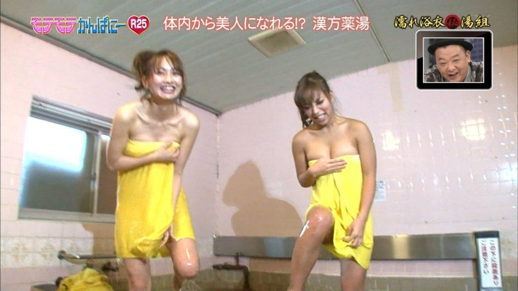 ハプニング不可避のTV入浴シーンのエロ画像35枚・18枚目の画像