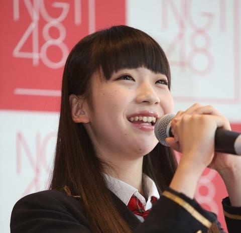 NGT48荻野由佳のエロ画像28
