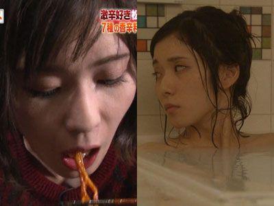 松岡茉優(22)の入浴シーン・疑似フェラ等抜けるエロ画像105枚・1枚目の画像