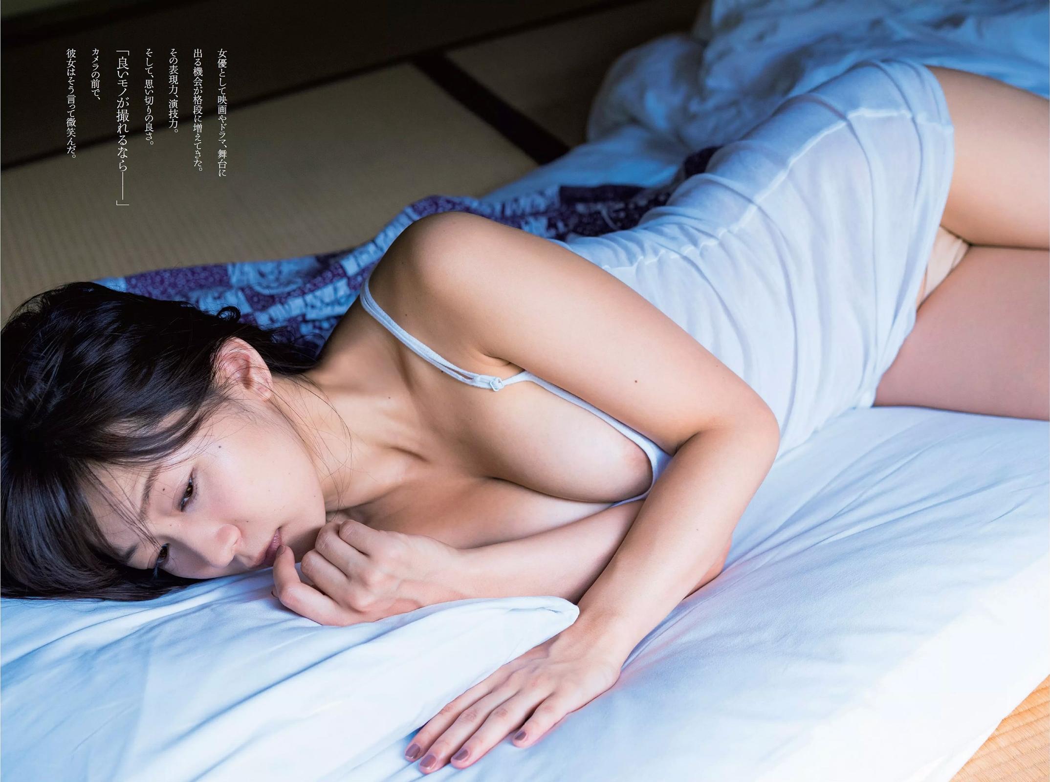 階戸瑠李(28)ヌード間近の透け乳首解禁グラビア画像100枚・5枚目の画像
