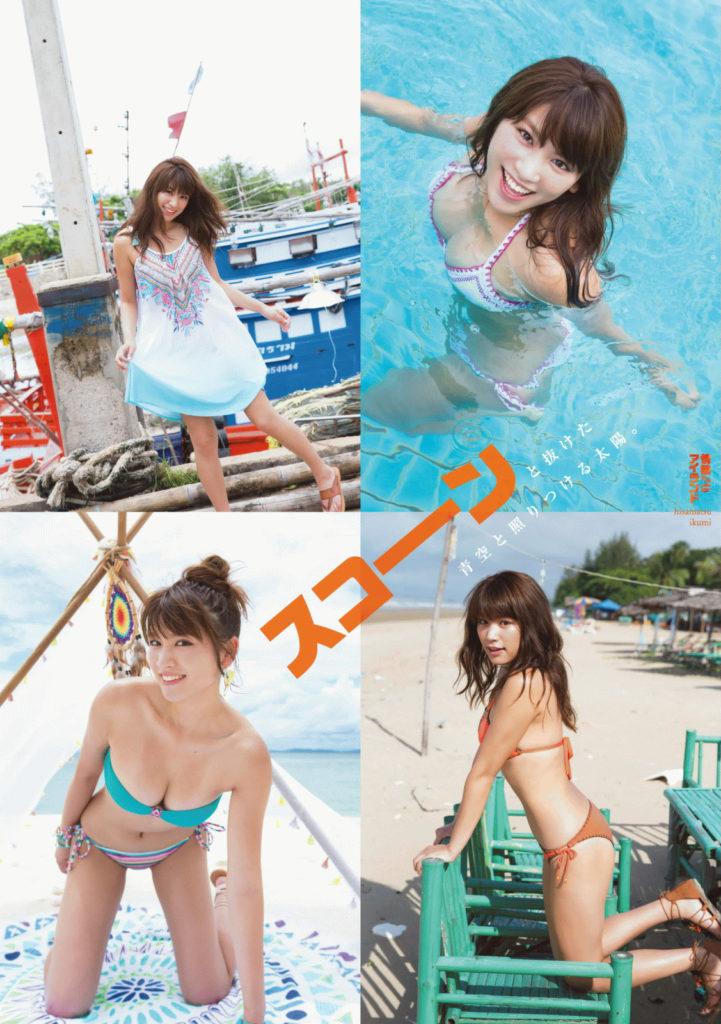 久松郁実(21)の最新グラビア&アイコラエロ画像210枚・19枚目の画像