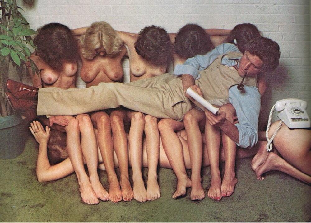 非現実的!外国人のハーレム姿のエロ画像25枚・11枚目の画像