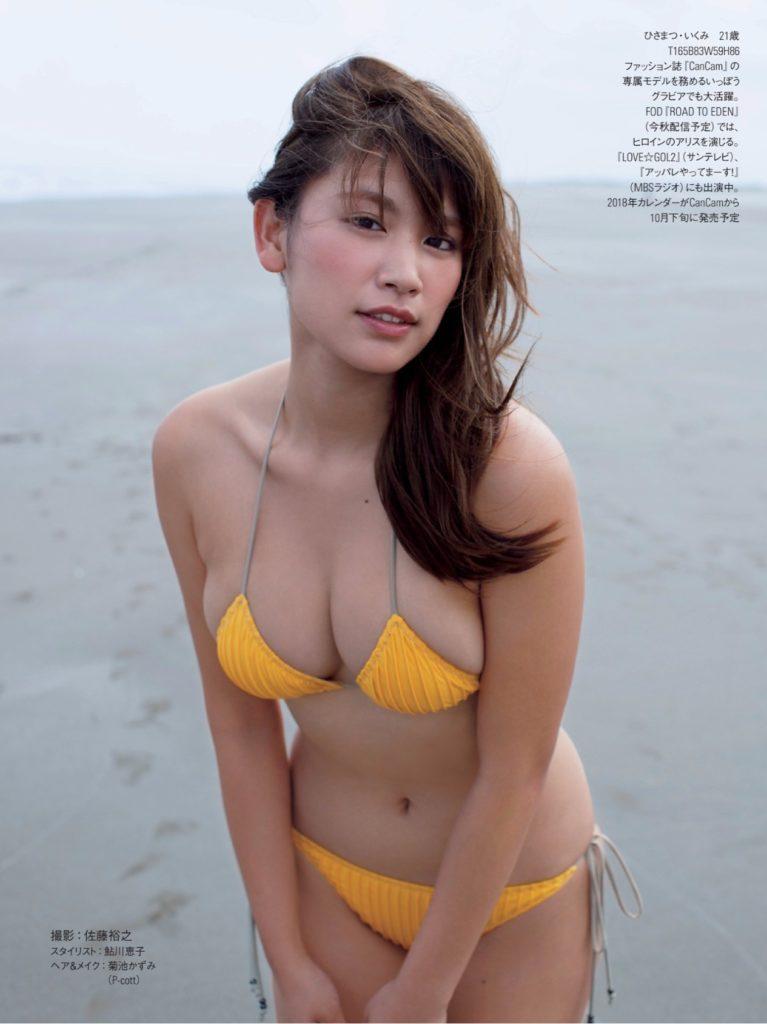 久松郁実(21)の最新グラビア&アイコラエロ画像210枚・121枚目の画像