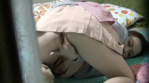 カーテンから見える裸体…!素人娘の覗き風盗撮エロ画像31枚・21枚目の画像