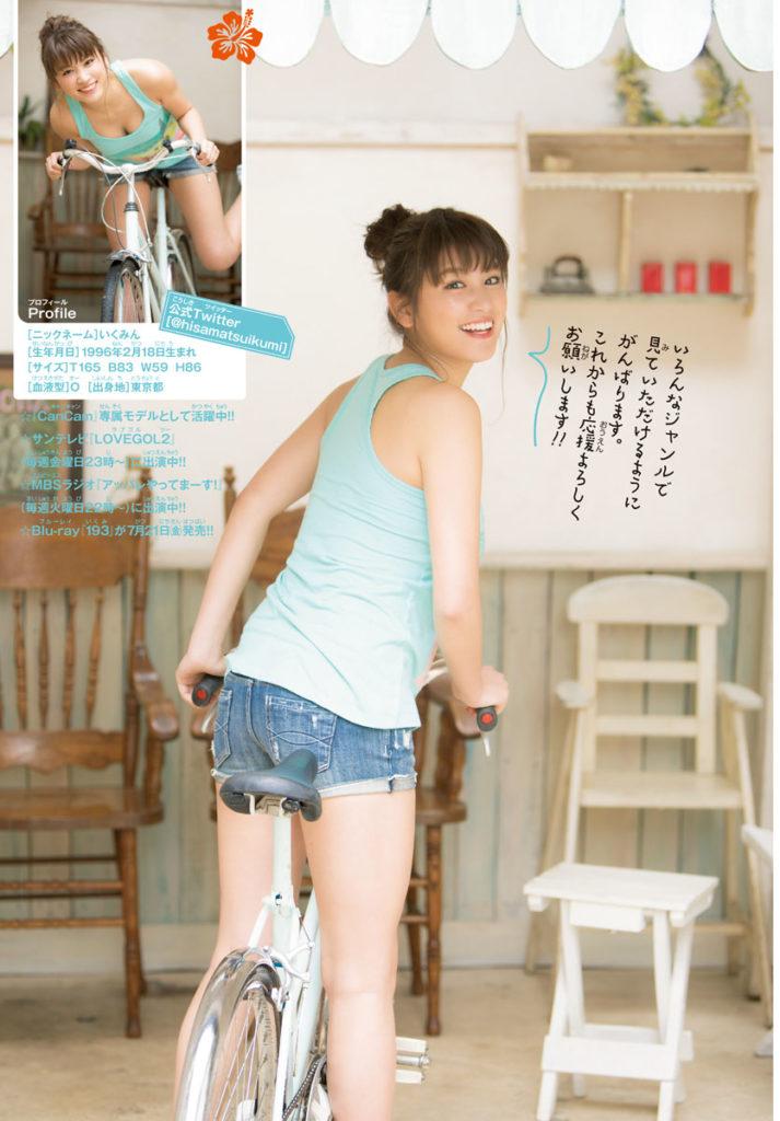 久松郁実(21)の最新グラビア&アイコラエロ画像210枚・47枚目の画像