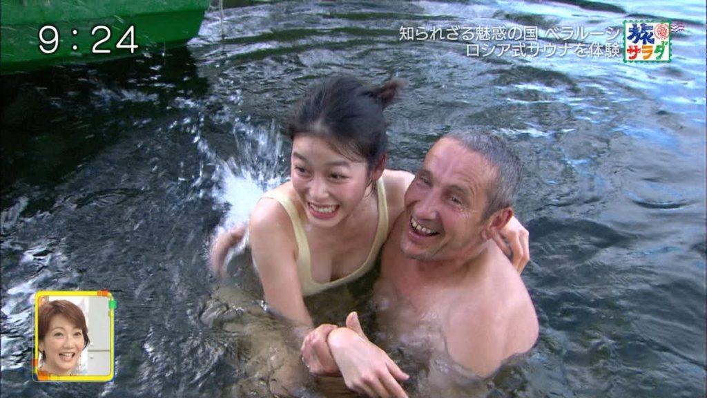 旅サラダガールズ・吉倉あおい(22)の胸チラエロ画像36枚・26枚目の画像