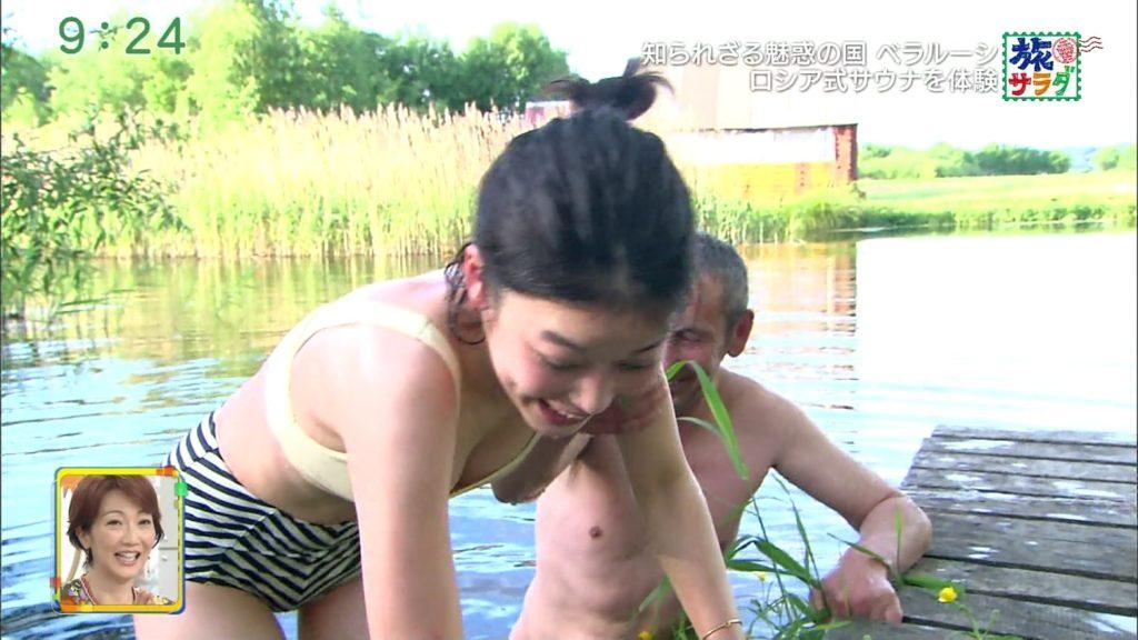 旅サラダガールズ・吉倉あおい(22)の胸チラエロ画像36枚・28枚目の画像