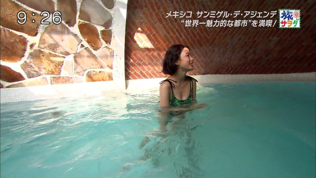 旅サラダガールズ・吉倉あおい(22)の胸チラエロ画像36枚・43枚目の画像