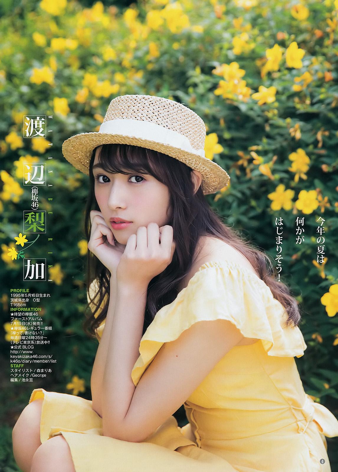 欅坂46渡辺梨加の写真集水着グラビア&アイコラエロ画像97枚・56枚目の画像