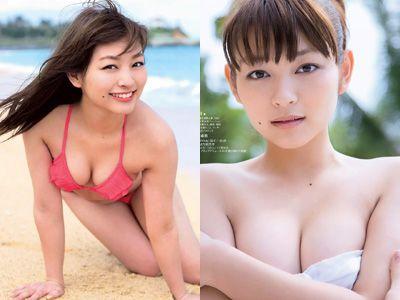 里々佳(22)Eカップ巨乳美女の水着グラビアエロ画像160枚・1枚目の画像