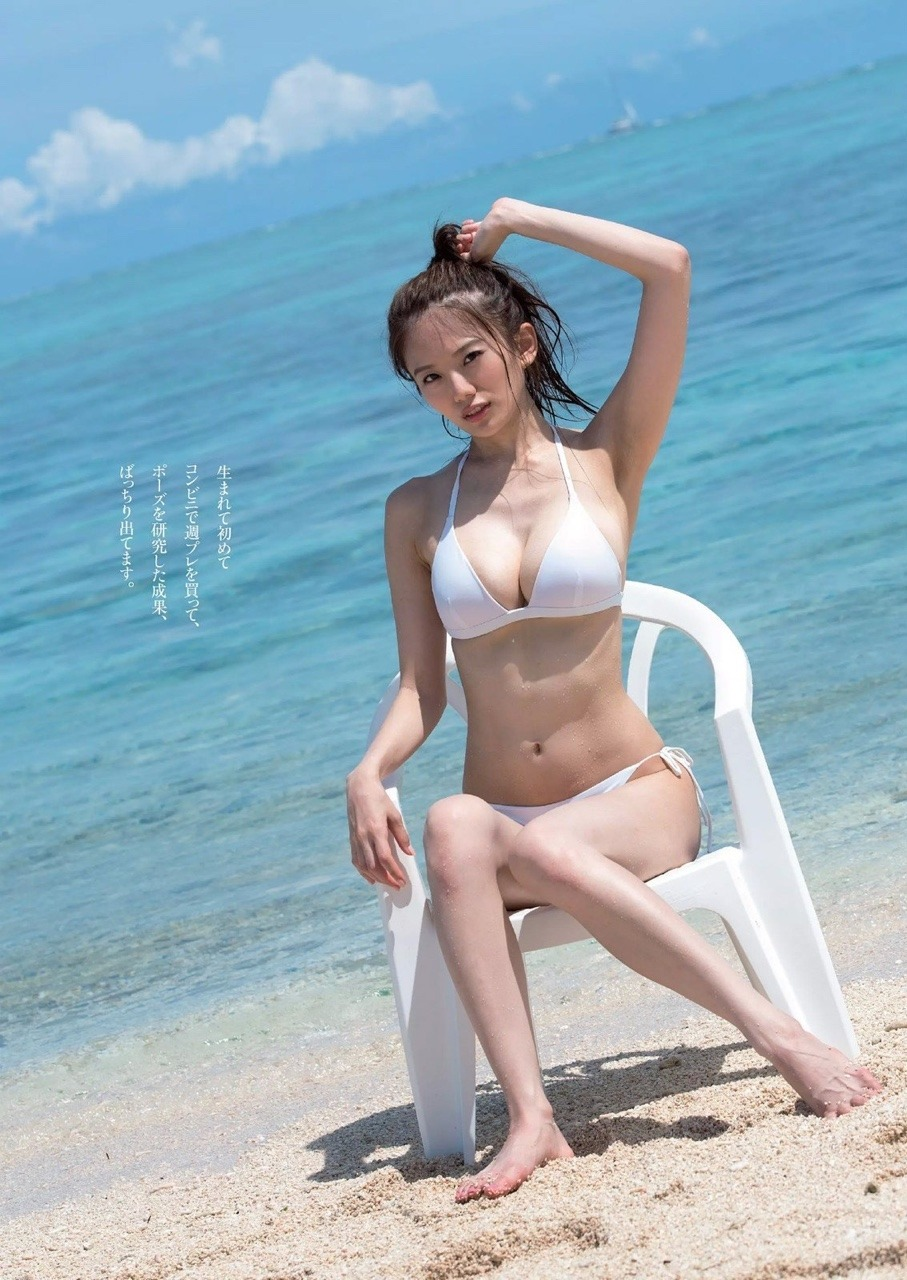 伊東紗冶子(23)Gカップキャスターの水着グラビア画像128枚・112枚目の画像