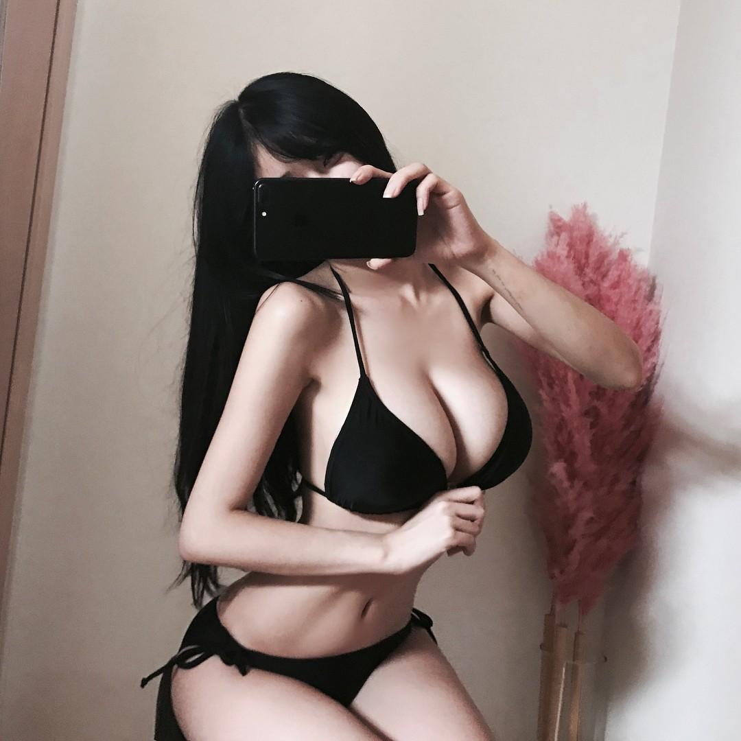 豊胸万歳!韓国美女の着衣巨乳&インスタ自撮りエロ画像97枚・48枚目の画像