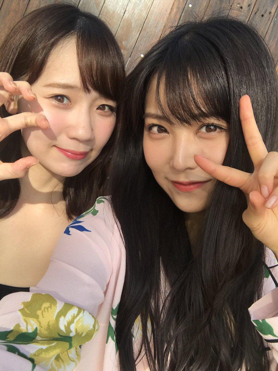NMB48白間美瑠&太田夢莉のWグラビアエロ画像150枚・101枚目の画像
