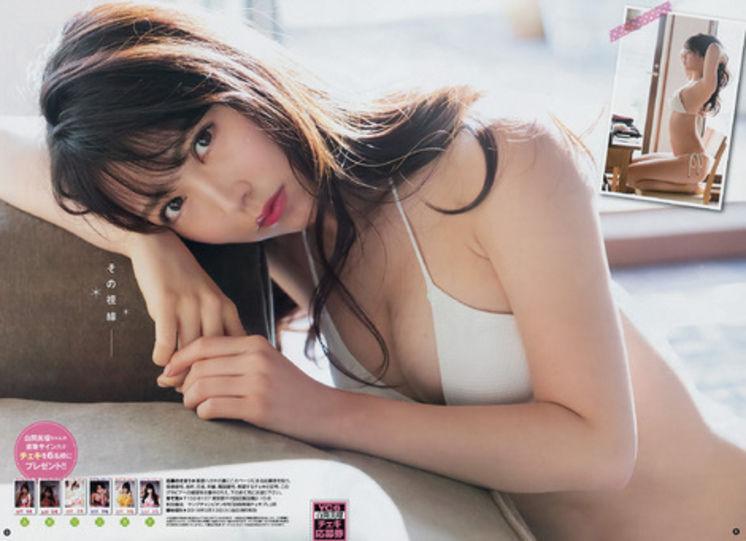 NMB48白間美瑠&太田夢莉のWグラビアエロ画像150枚・10枚目の画像