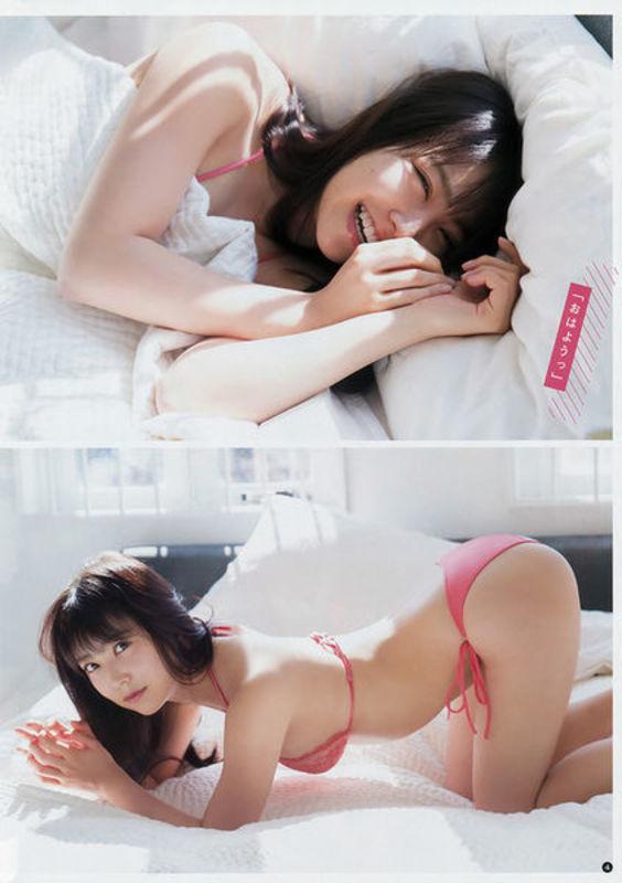 NMB48白間美瑠&太田夢莉のWグラビアエロ画像150枚・14枚目の画像