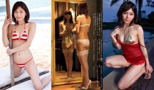 菊池梨沙(23)城島リーダー恋人の水着グラビアエロ画像35枚