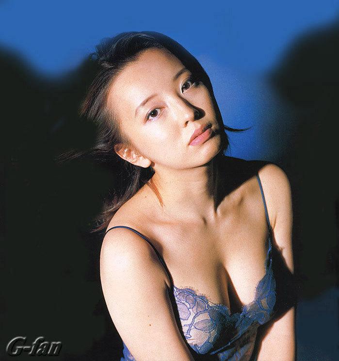 高橋由美子の若かりし頃のお宝グラビアエロ 画像028