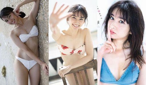 小泉遥(22)の水着グラビアが抜ける画像40枚