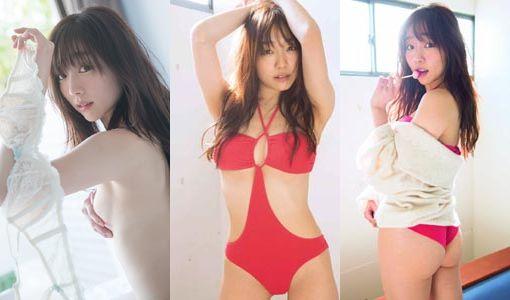 須田亜香里(26)の手ブラヌード写真集のグラビア画像110枚 表紙
