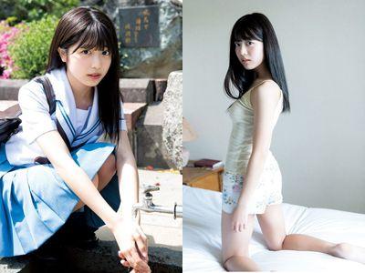 りおちょんこと吉田莉桜(16)の初グラビア画像25枚 表紙