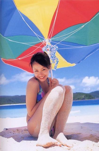 沢尻エリカの若かりし頃の水着グラビア画像71