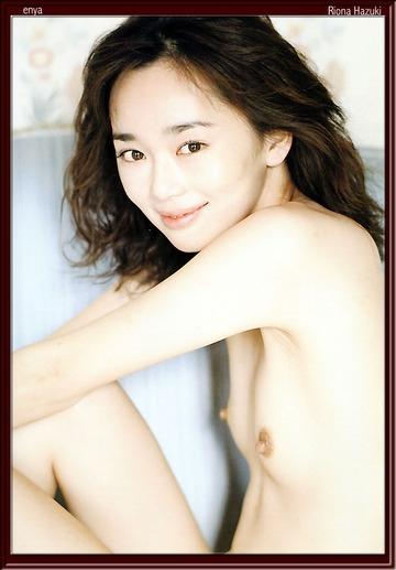 葉月里緒奈の横乳アングルヌード画像