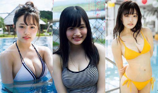 つりビット安藤咲桜(17)の水着グラビアエロ画像70枚