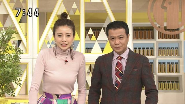 片瀬那奈の着衣巨乳エロ画像002