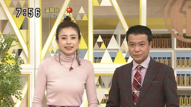 片瀬那奈の着衣巨乳エロ画像014