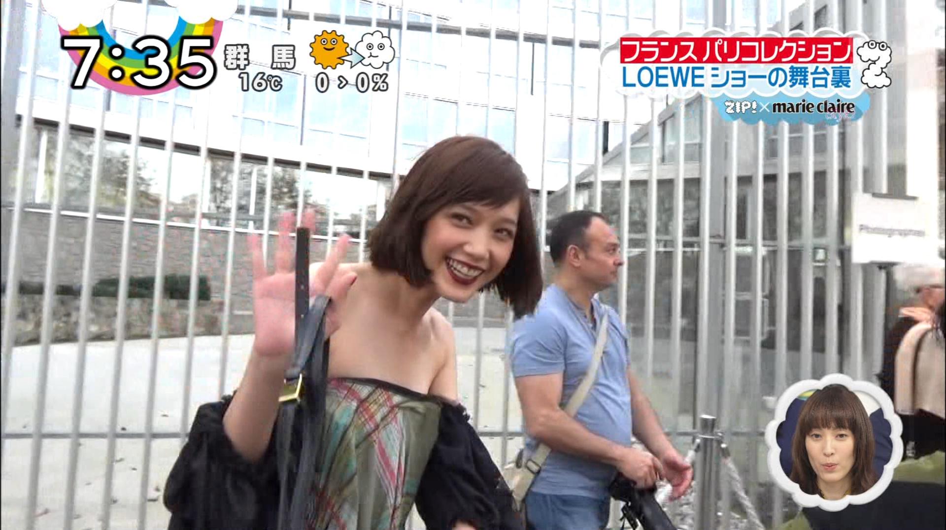 本田翼の激レア水着姿のエロ画像009