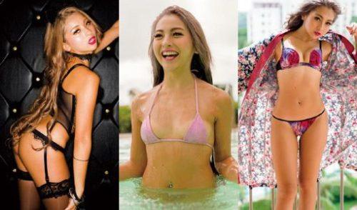 ゆきぽよ(22)のパンチラ、水着、泡風呂ヌード画像等60枚