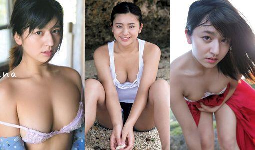 徳江かな(19)の写真集や過激水着グラビア画像100枚