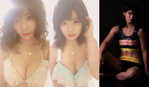 仮面女子・川村虹花(22)の水着姿やRIZIN格闘家の画像等60枚