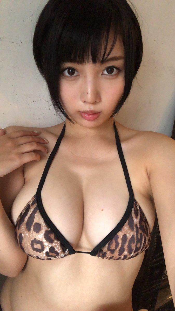 安位薫のツイッター自画撮りエロ画像024