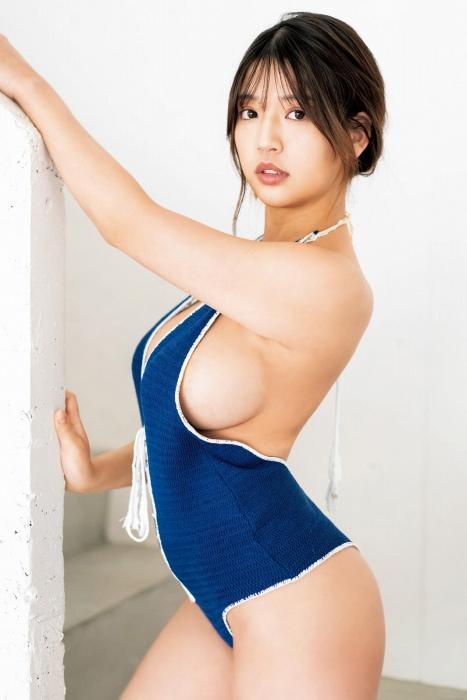 藤乃あおいの水着グラビアエロ画像008