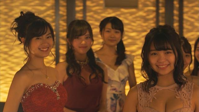 恒松祐里のキャバ嬢ドレス姿のエロ画像002