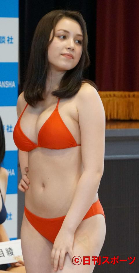 ミッシェル愛美の「ミスマガジン2019」水着姿エロ画像006