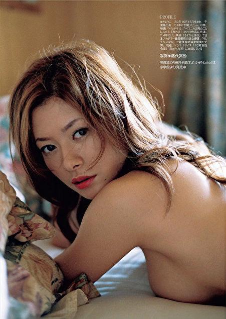 真木よう子の写真集『月刊真木よう子』秘蔵カットエロ画像007