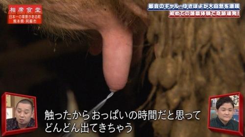 ゆきぽよの乳搾りエロ画像024
