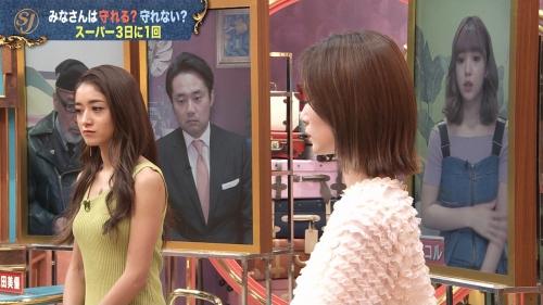 みちょぱの着衣ニットおっぱいエロ画像011