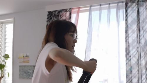 新垣結衣の『ビオリス ヴィーガニー誕生』編CMエロ画像016