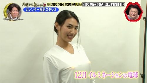 青山めぐの付け乳首カレンダーエロ画像026