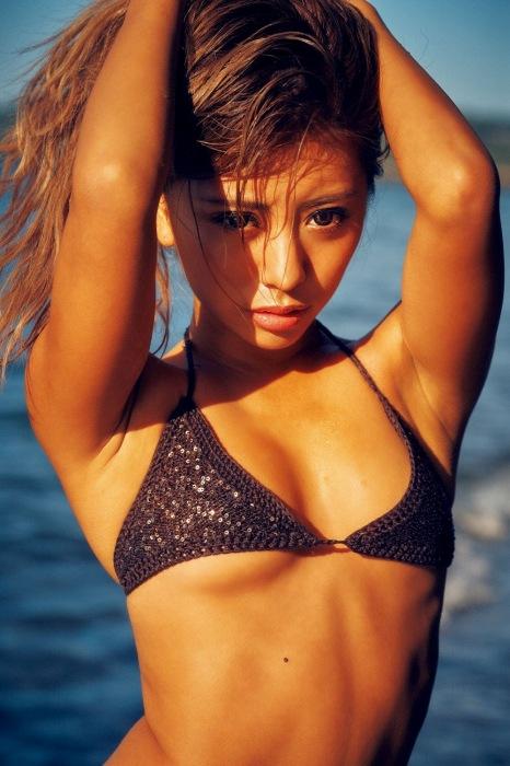 華の水着グラビアエロ画像007