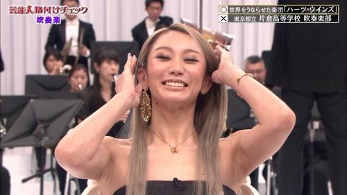 倖田來未の胸チラ谷間エロ画像002