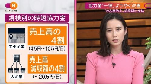 森川夕貴アナの着衣ニットおっぱいエロ画像003