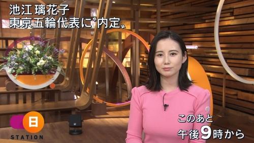 森川夕貴アナの着衣ニットおっぱいエロ画像007